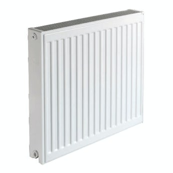 The Heating Co. Type 22 Compact white double convector radiator