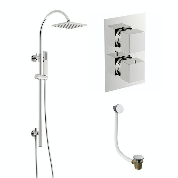 Ellis Thermostatic Shower Bath Set