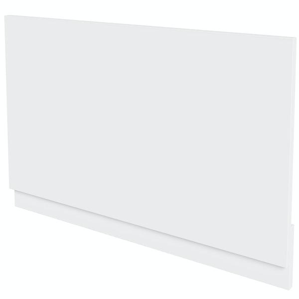 Mode Nouvel gloss white bath end panel 680mm