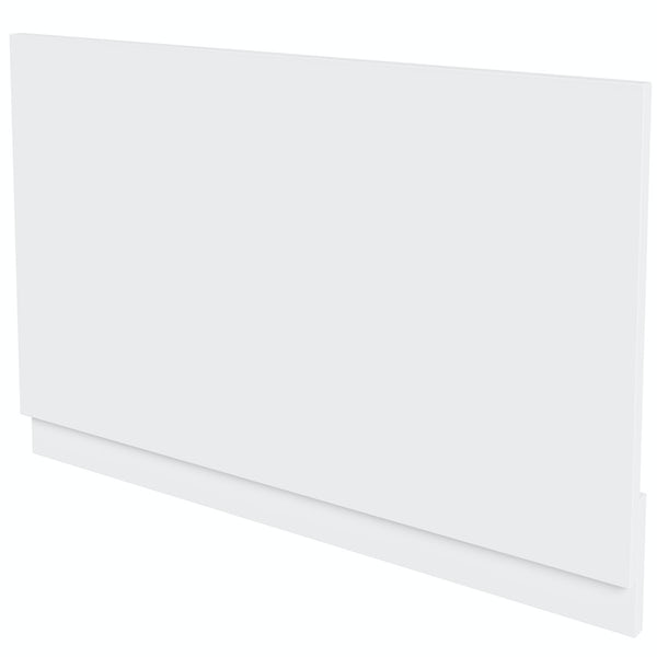 Mode Nouvel gloss white bath end panel 680mm