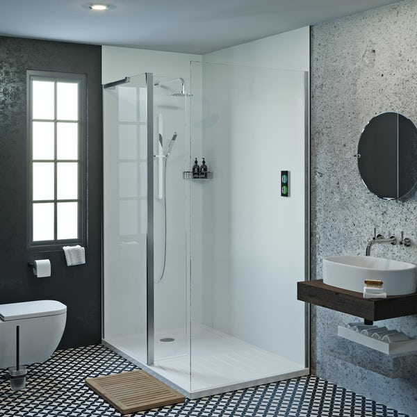 Showerwall Acrylic Arctic shower wall panel