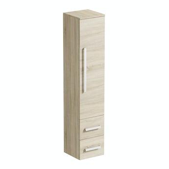 Orchard Wye oak wall cabinet