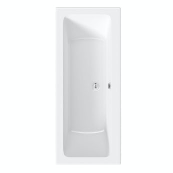 Orchard square edge double ended bath