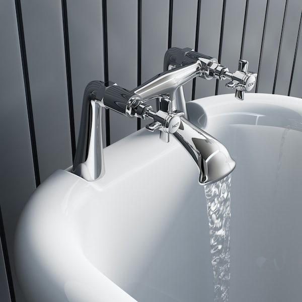 The Bath Co. Dulwich bath mixer tap