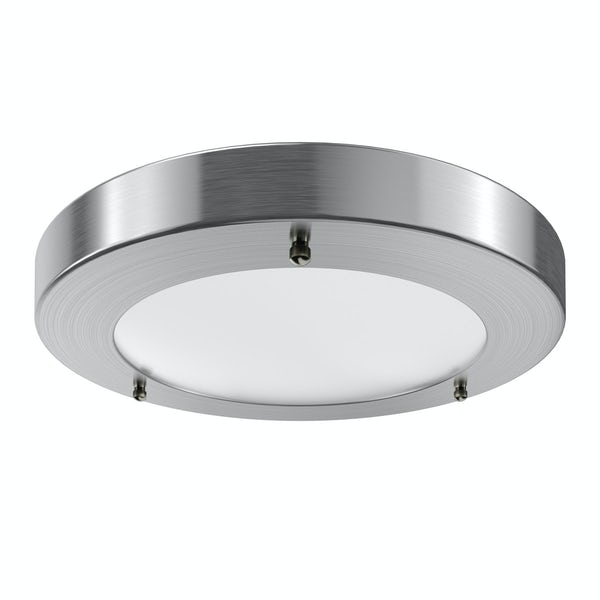 Forum Llum large round flush bathroom ceiling light