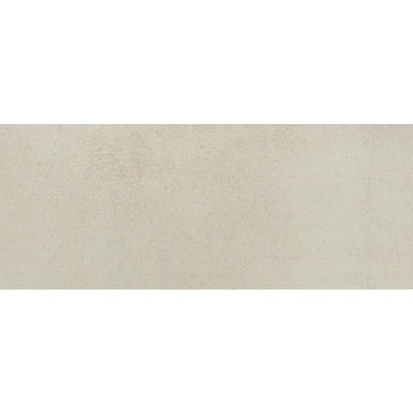 Drift beige flat stone effect matt wall tile 200mm x 500mm