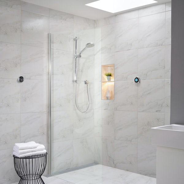Aqualisa Optic Q Smart concealed shower with adjustable handset