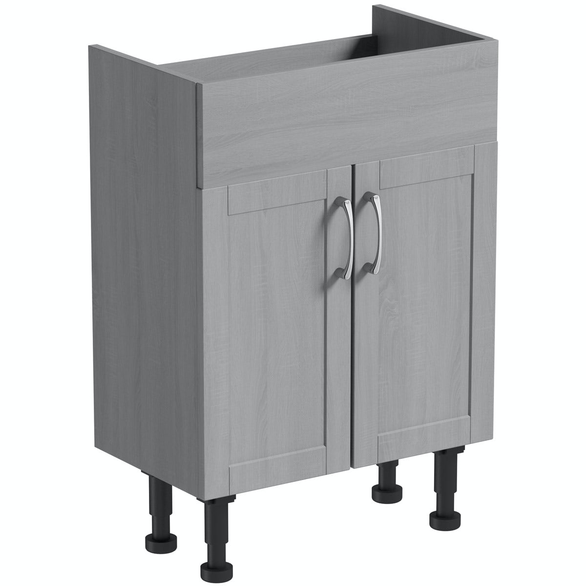 The Bath Co. Newbury dusk grey vanity unit 600mm
