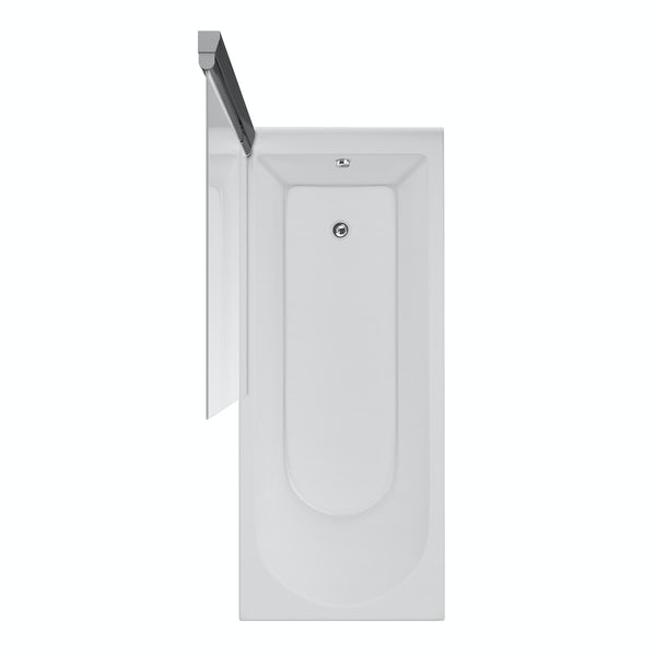 Ideal Standard Connect angle bathscreen
