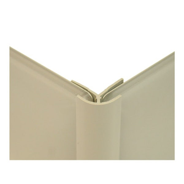 Zenolite plus matt stone color matched external corner joint 250mm