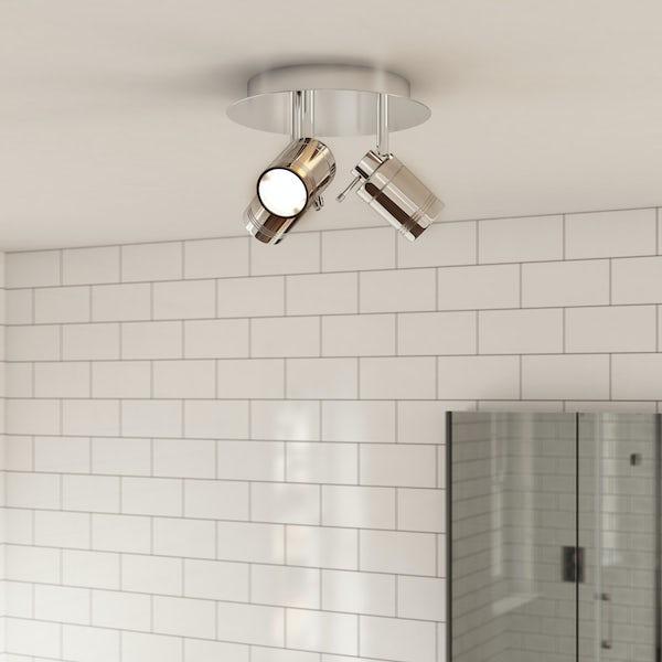 Forum Ligero 3 Light Bathroom Spotlight At Victoriaplum Com