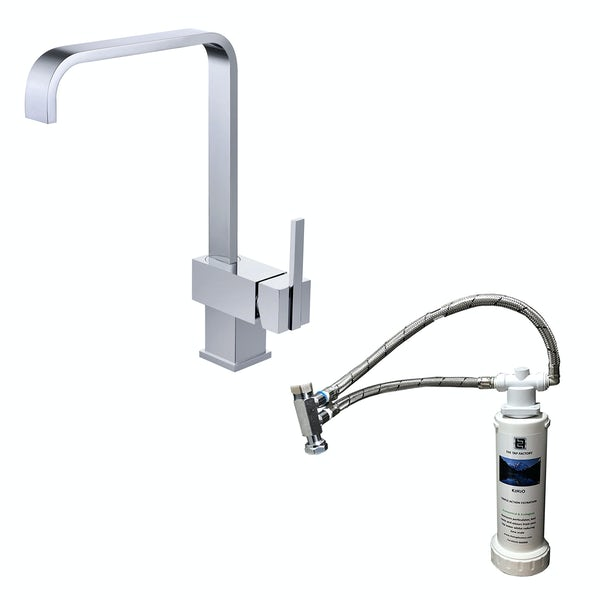 Schön Ulva kitchen tap with complete filter kit