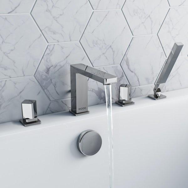 Mode Austin 4 hole bath shower mixer tap