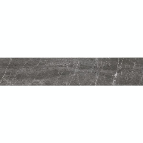 Hago grey stone effect matt wall and floor tile 75mm x 385mm