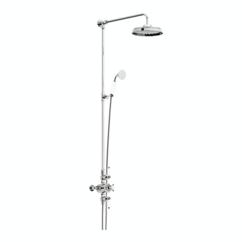 The Bath Co. Winchester dual valve riser shower system