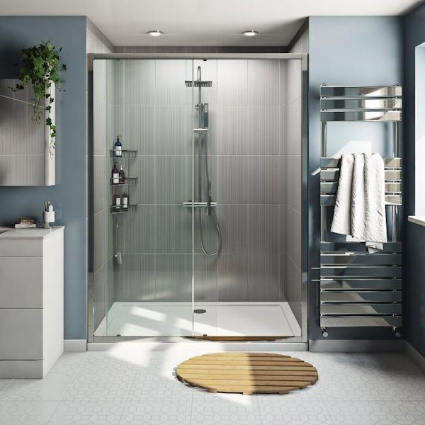 Orchard 6mm framed sliding shower door
