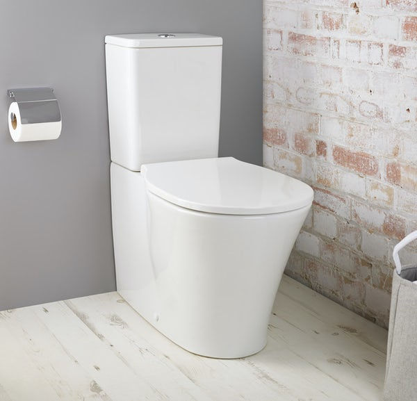 Ideal Standard Concept Air water saving close coupled toilet with soft close toilet seat