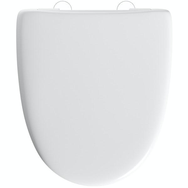 Sorrento thermoset anti scratch soft close toilet seat