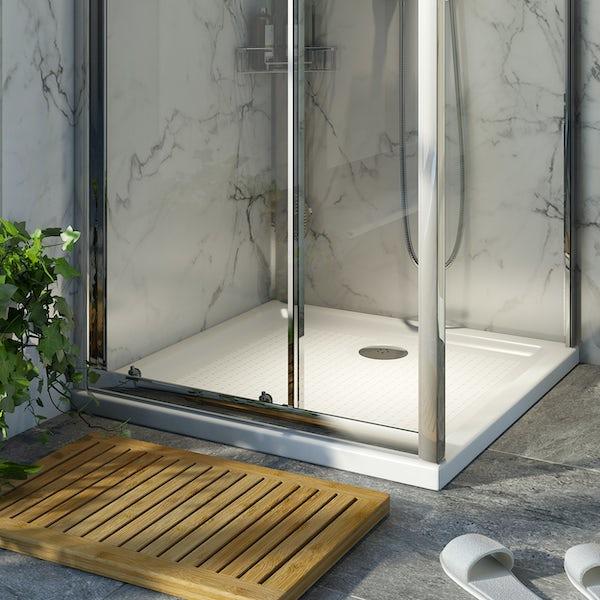 Orchard anti-slip square stone shower tray