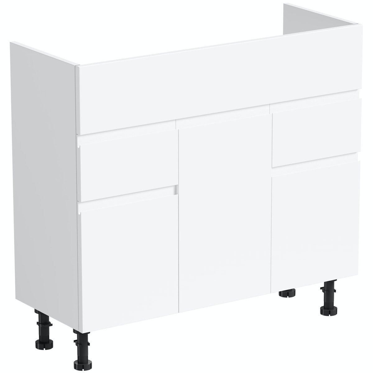 Orchard Wharfe white vanity unit 850mm