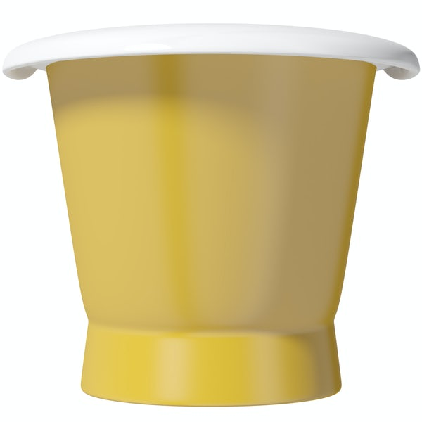 Artist Collection Honey Yellow cast iron bath