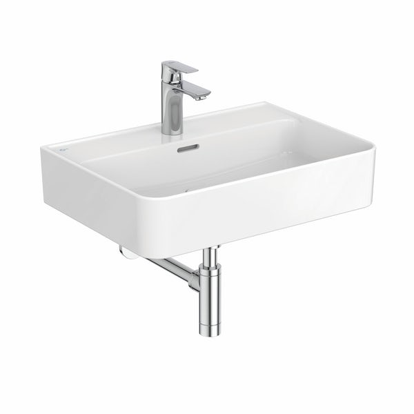 Ideal Standard Strada II 1 tap hole wall hung basin 600mm