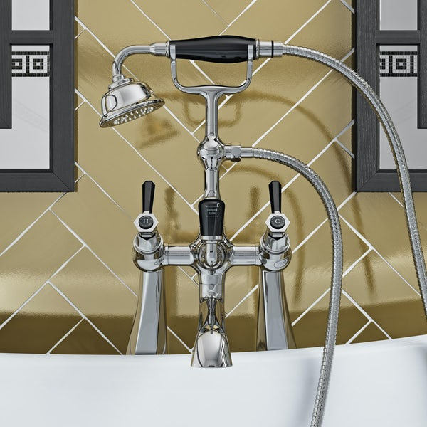 The Bath Co. Beaumont lever bath shower mixer tap
