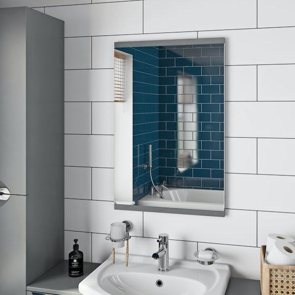 Orchard Elsdon stone grey mirror 500x700mm