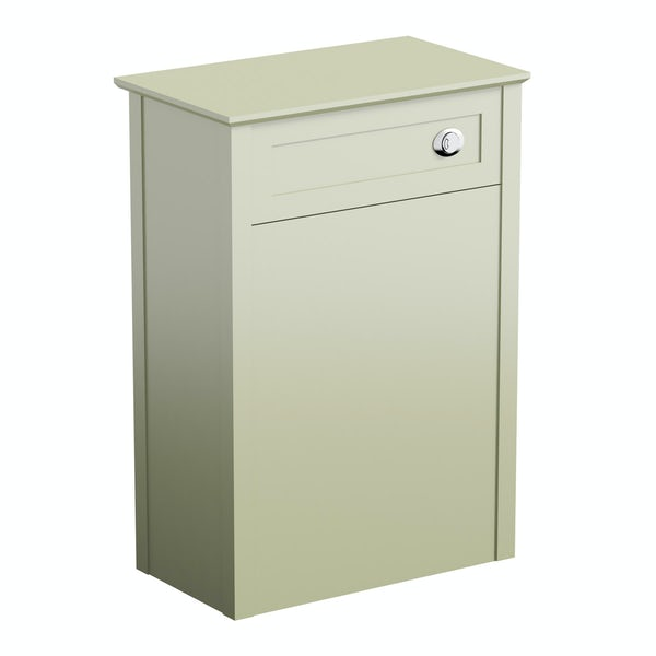 Camberley sage back to wall toilet unit