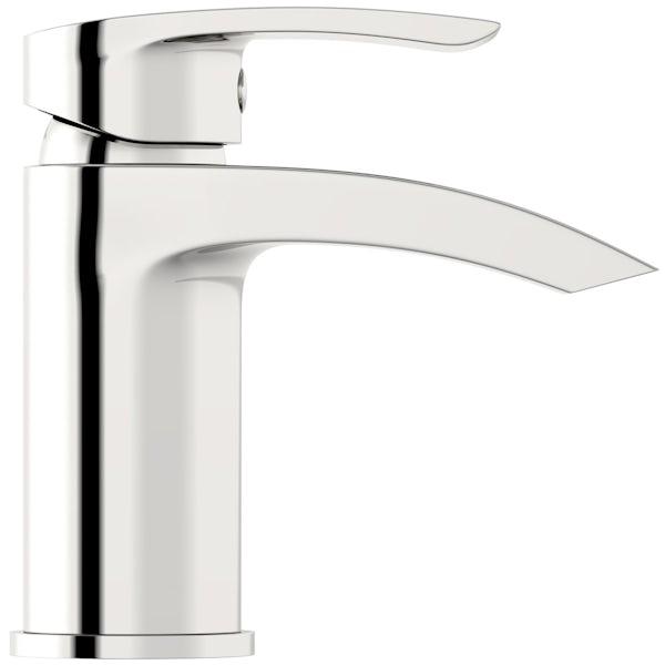 Orchard Derwent round cloakroom basin mixer tap
