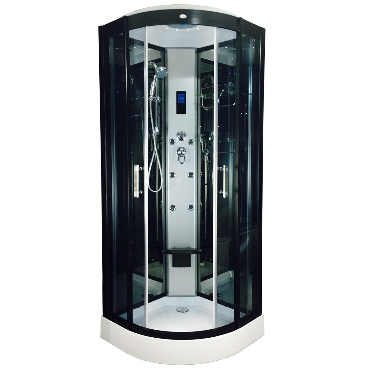Insignia Quadrant Hydro Massage Shower Cabin 800 X 800