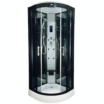 Insignia quadrant hydro-massage shower cabin 800 x 800