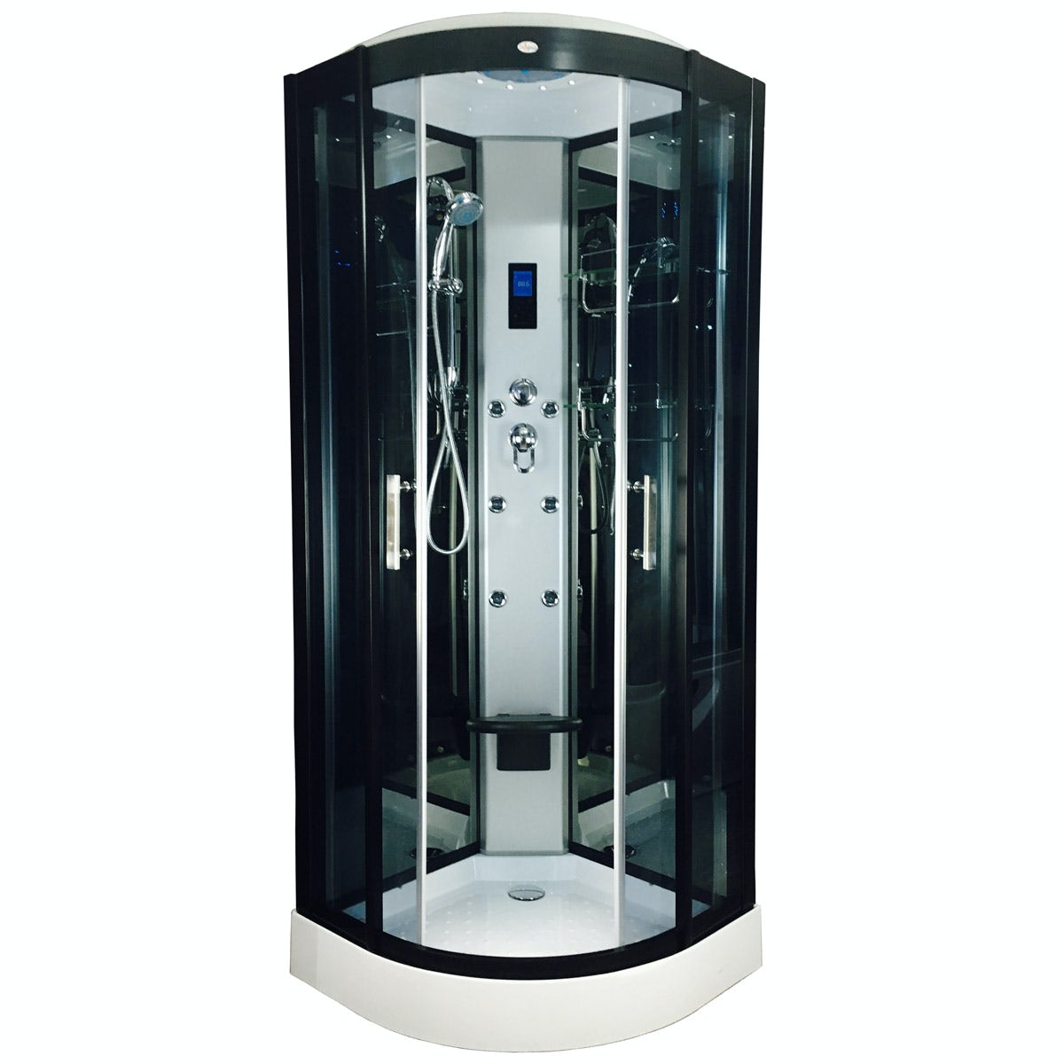 Insignia Quadrant Hydro Massage Shower Cabin 800 X 800