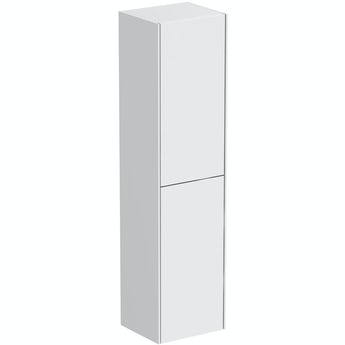 Mode Austin white wall hung cabinet 1400 x 350mm