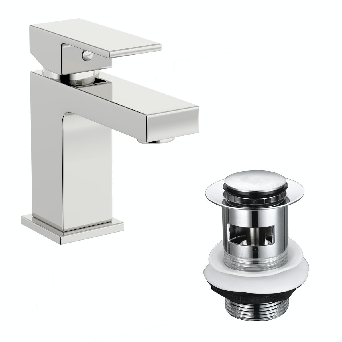 Mode Cooper basin mixer tap with click clack waste