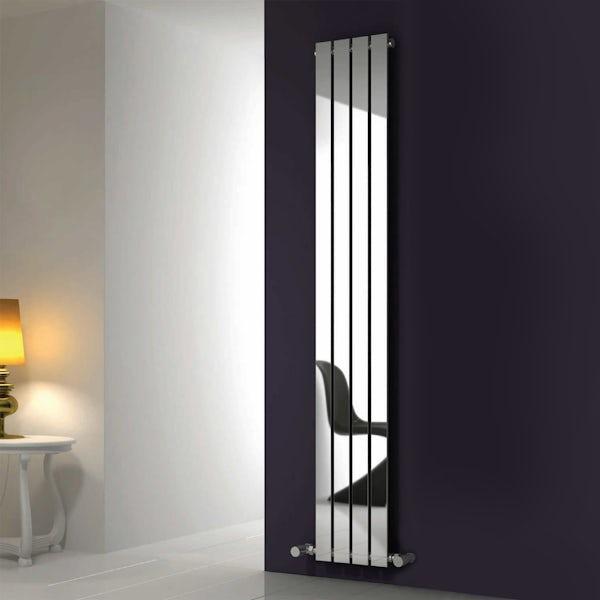 Reina Osimo chrome steel designer radiator