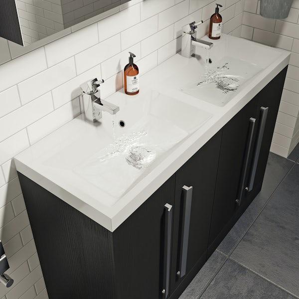 Wye essen double basin unit 1200mm