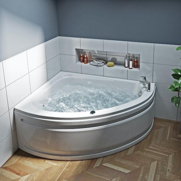 Mode Camden left handed corner 12 jet whirlpool bath