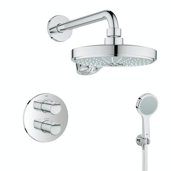 Grohe Grohtherm 2000 concealed thermostatic shower set ...