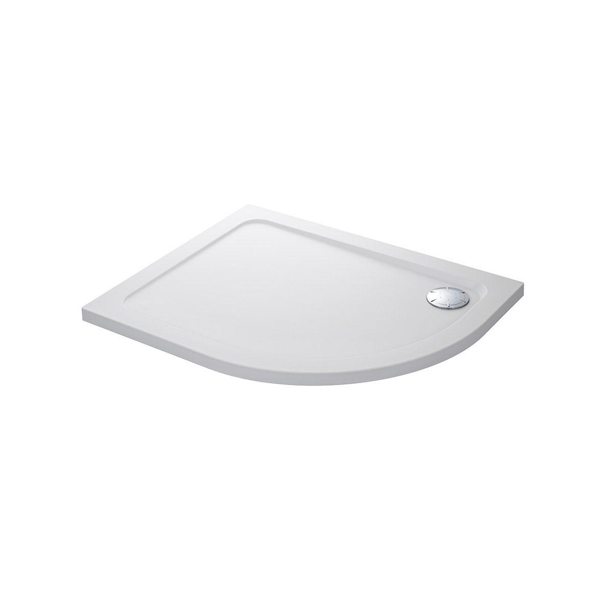 Mira Flight Safe Low Level Antislip Lh Quadrant Shower