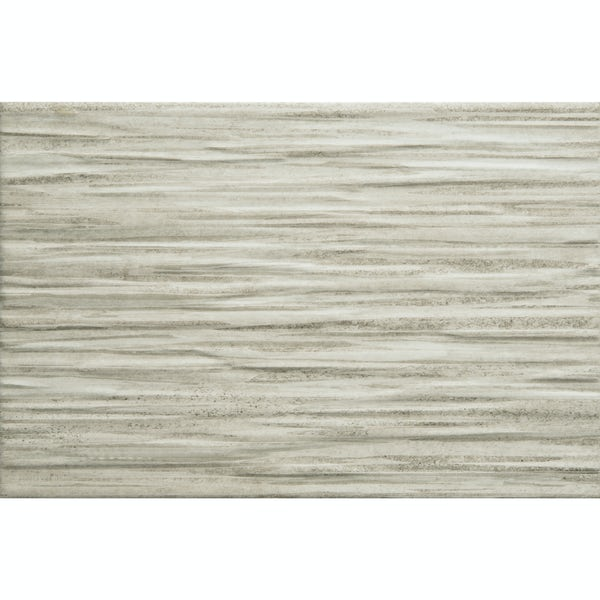 Madera grey textured stone effect matt wall tile 200mm x 300mm