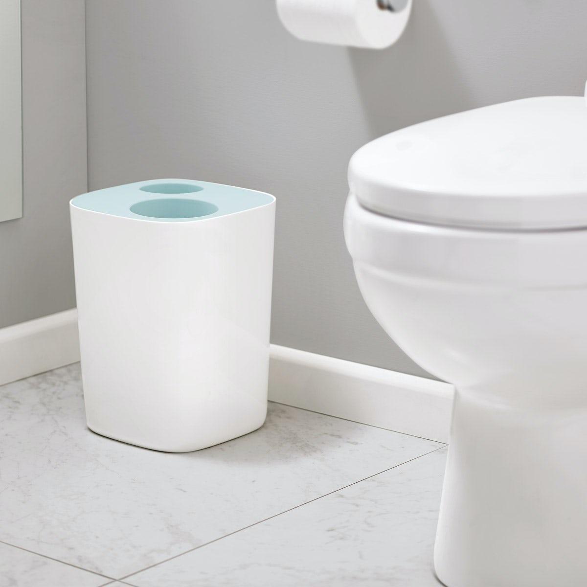Joseph Joseph Split Bathroom Waste Separation Bin Victoriaplum Com