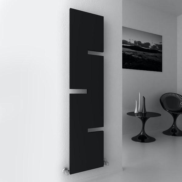 Reina Fiore anthracite grey steel designer radiator