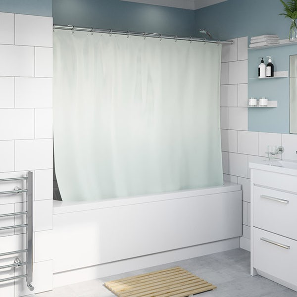Accents grey shower curtain