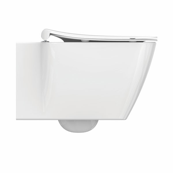 Ideal Standard Strada II wall hung toilet with soft close seat