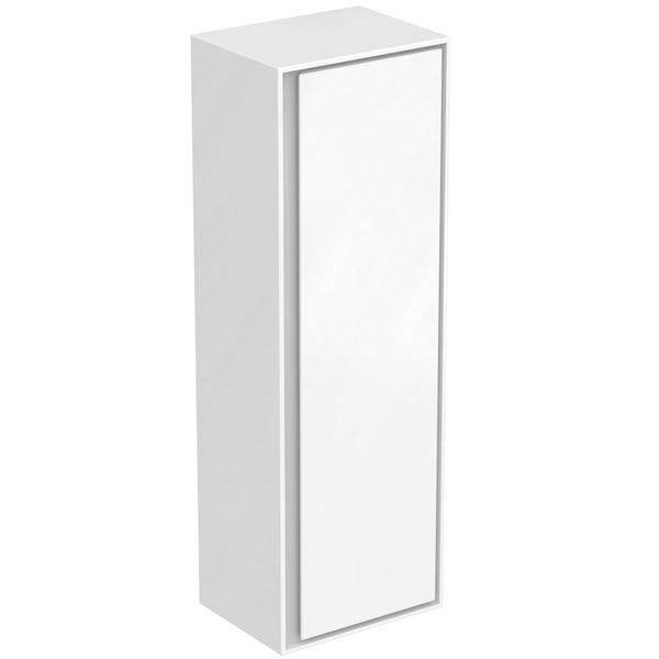 Ideal Standard Concept Air small gloss and matt white wall cabinet