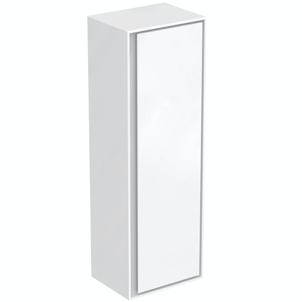 Ideal Standard Concept Air small gloss and matt white wall cabinet