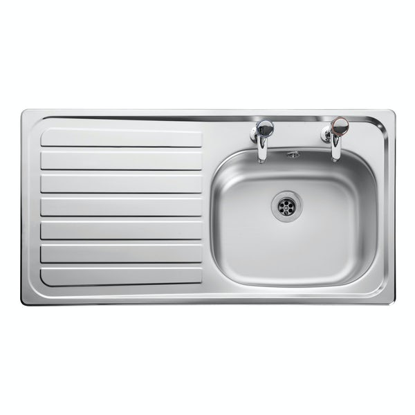 Leisure Lexin 1.0 bowl left handed kitchen sink