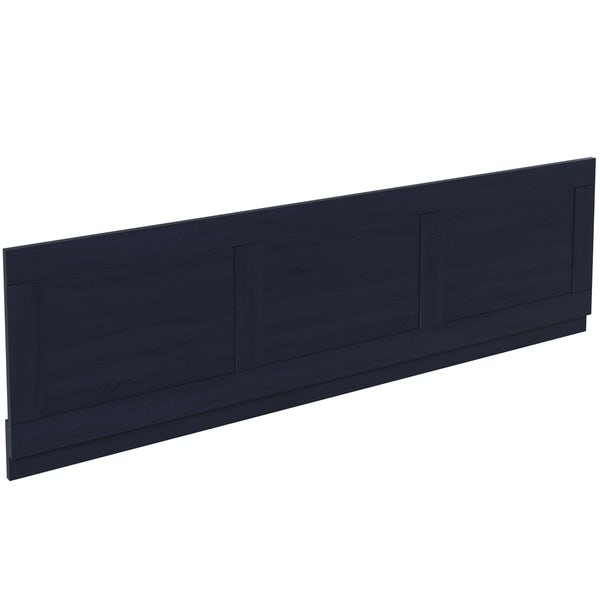 The Bath Co. Beaumont sapphire blue bath front panel 1700mm