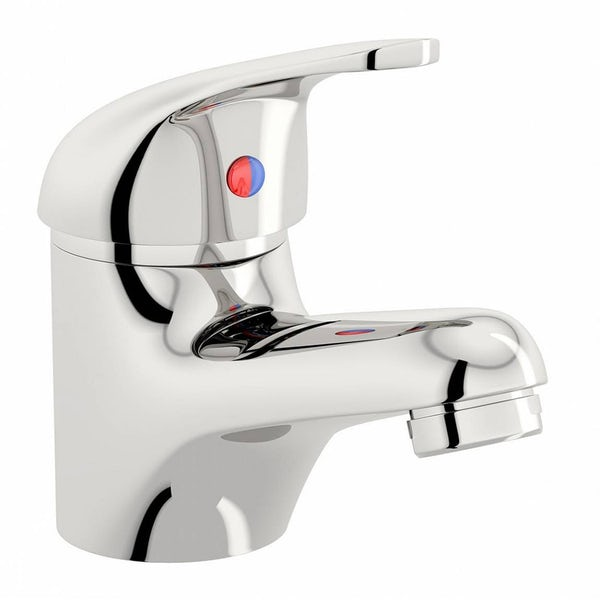 Pack of 4 Clarity Pulse single lever basin mixer taps